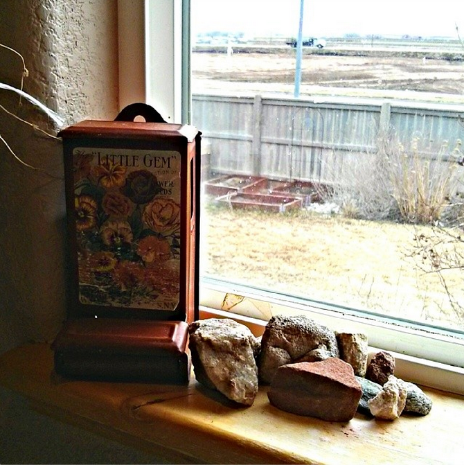 Brock's rock collection